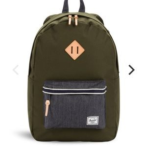 Herschel Backpack Heritage Green Denim